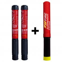 FIRESS SuperPack II - 2x50sek FIRESS PRO & 1x100sek FIRESS PRO Industrial